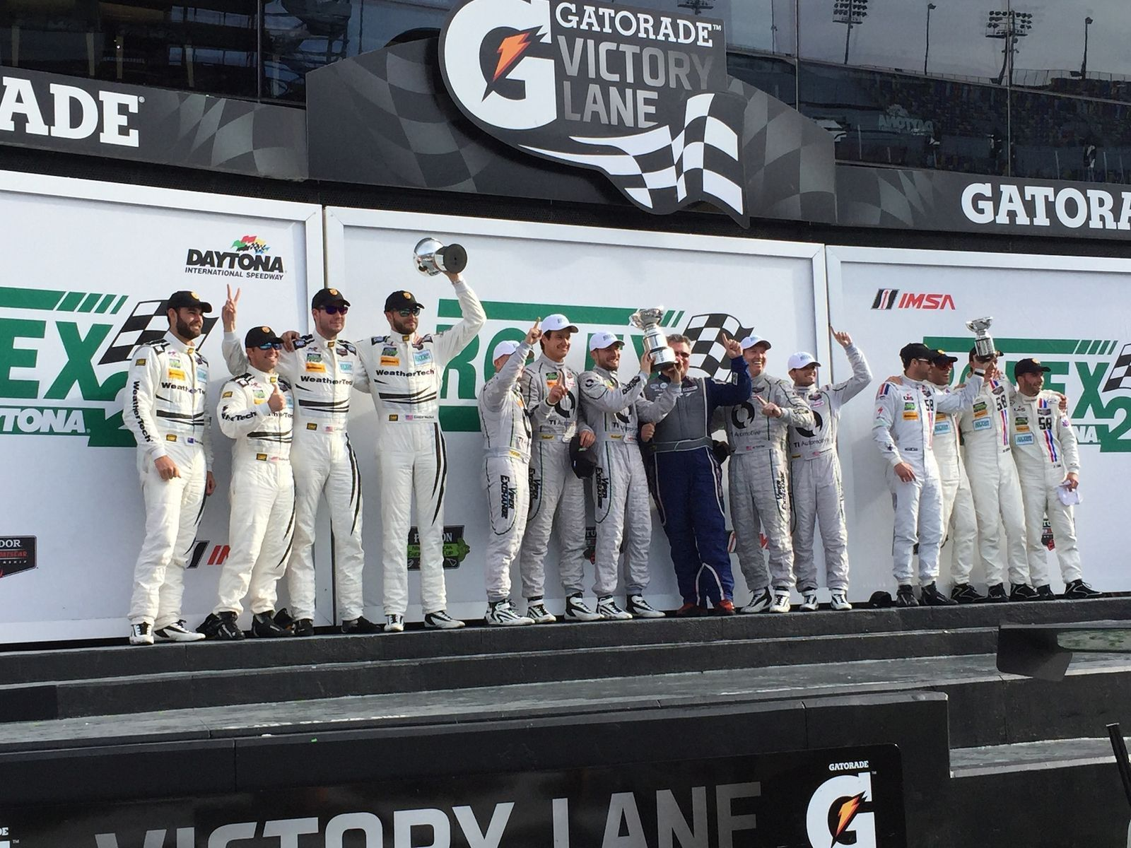 | 2015 Rolex 24 at Daytona GTD Class Podium