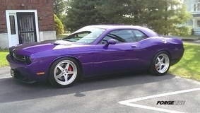 Brendan Mayer's Dodge Challenger SRT8 on Forgeline SO3S Wheels