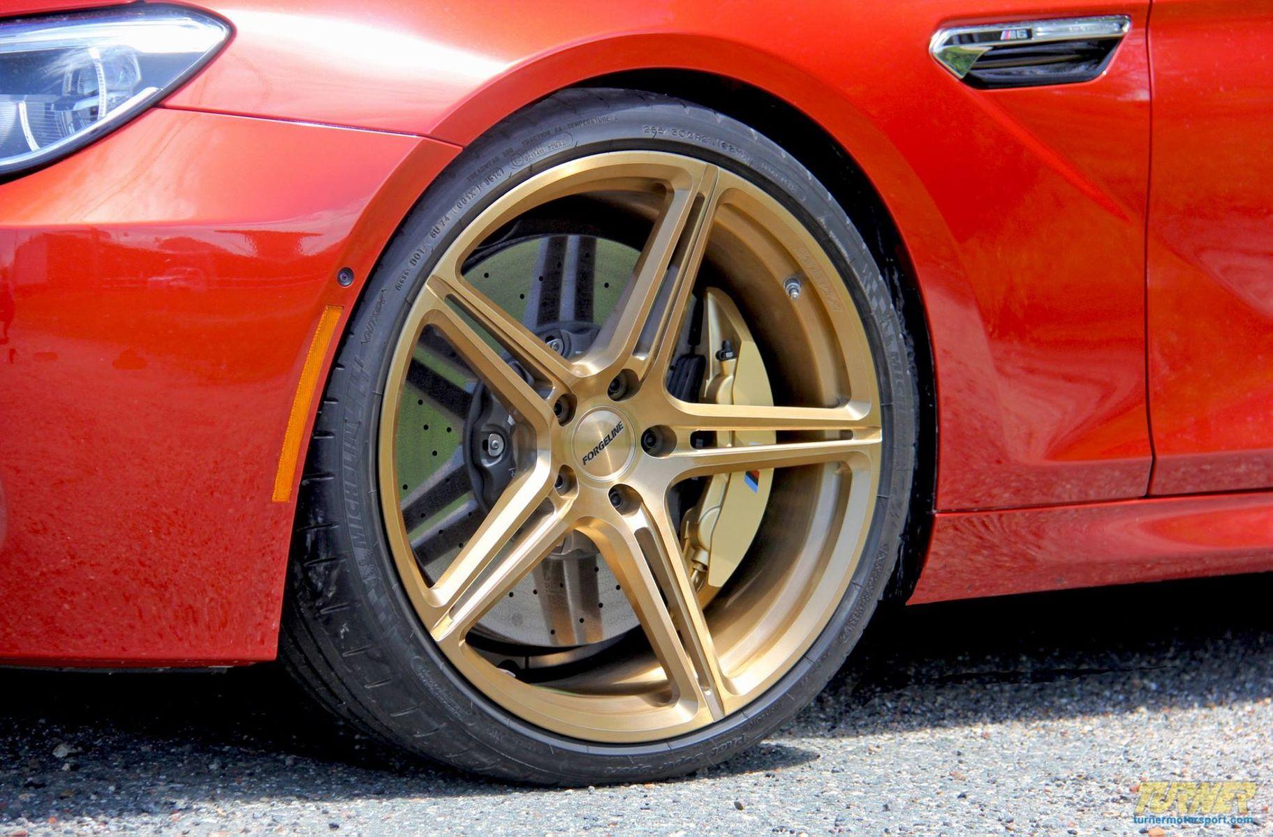 2015 BMW M6 | Turner Motorsport's BMW F13 M6 on Forgeline One Piece Forged Monoblock SC1 Wheels