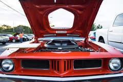 1972 Plymouth Cuda Shaker