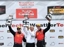 Stevenson Motorsports Wins IMSA CTSC GS, at Lime Rock Park, in the #57 Chevrolet Camaro GT4.R on Forgeline One Piece Forged Monoblock GS1R Wheels