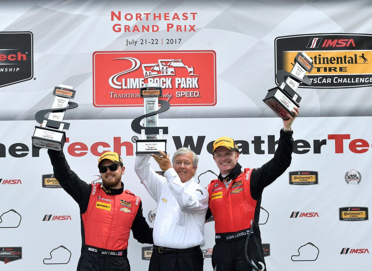 | Stevenson Motorsports Wins IMSA CTSC GS, at Lime Rock Park, in the #57 Chevrolet Camaro GT4.R on Forgeline One Piece Forged Monoblock GS1R Wheels