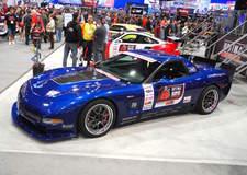 Danny Popp's RAFT Motorsports C5 Z06 on Forgeline GA3R Wheels - Side Shot