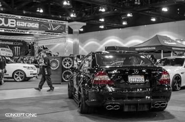 2013 Mercedes-Benz C63 AMG | '13 Mercedes C63 AMG @ Dub Show - Show Shot