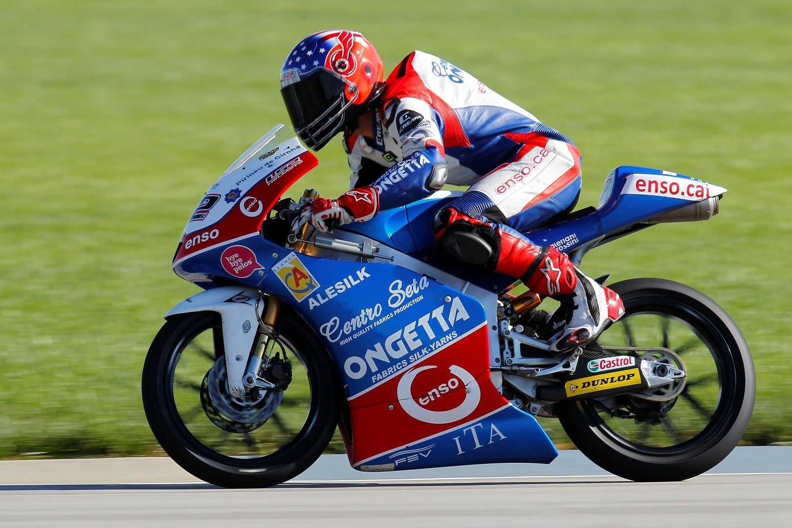2013   | Isaac Vinales on his Moto3 Machine