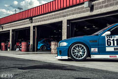 BMW E46 Race Car - CCW C14 Forged Lightweight Monoblock Wheels