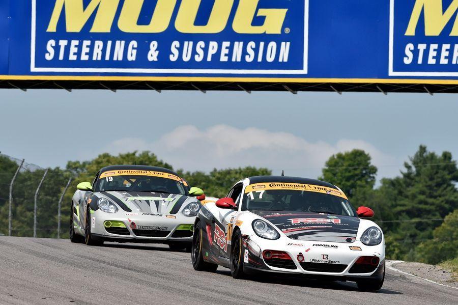 Porsche Cayman | IMSA ST Class at Mosport 2015