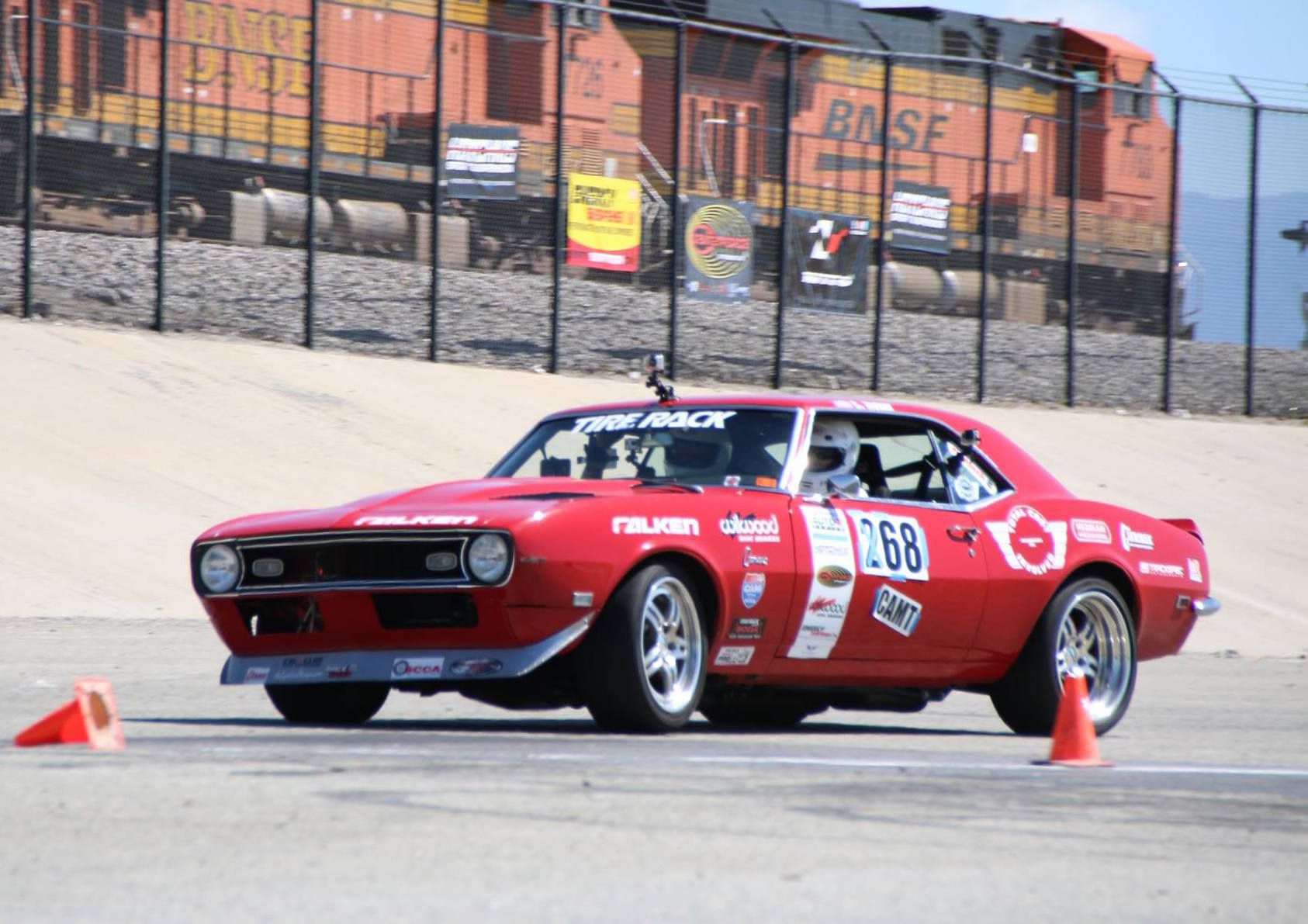 1968 Chevrolet Camaro | Chad Ryker Wins NMCA West Autocross With '68 Camaro on Forgeline DS3 Wheels