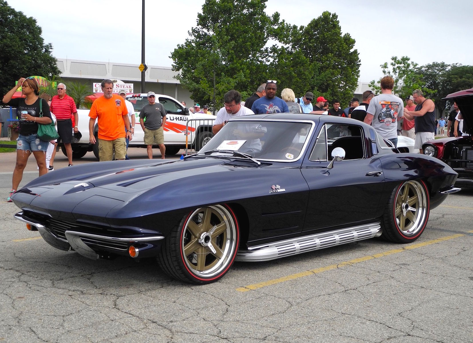 1964 Chevrolet Corvette Stingray | Barry Blomquist's '64 Corvette on Forgeline Center Locking One-Off Wheels