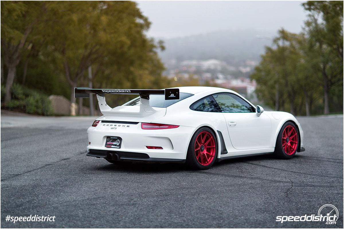 2015 Porsche 911 | Josh Shokri's Speed District Porsche 991 GT3 on Center Locking Forgeline One Piece Forged Monoblock GA1R Wheels