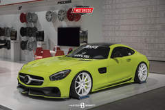 Acid Green Mercedes-Benz GT S AMG - SEMA 2016