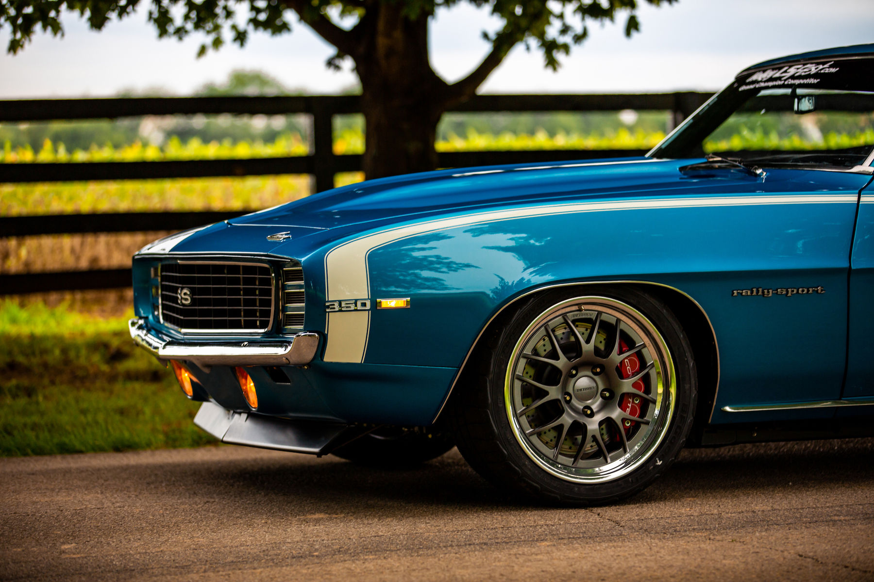 1969 Chevrolet Camaro | David Webb's Pro-Touring '69 Camaro on Forgeline GW3 Wheels