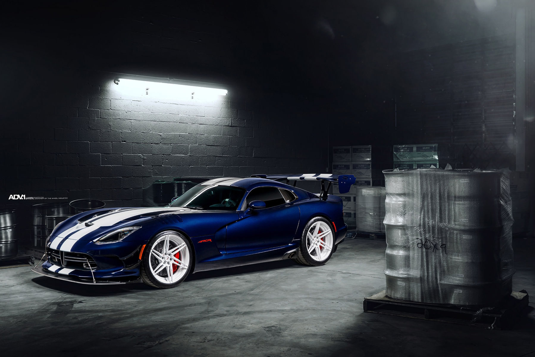 2016 Dodge Viper | ADV.1 Wheels Dodge Viper ACR