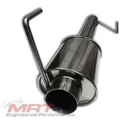 MRT stainless steel exhaust, Max-Flow h-pipe and back half exhaust system