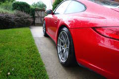 997 Porsche 911 C4S on Forgeline GA1R Wheels