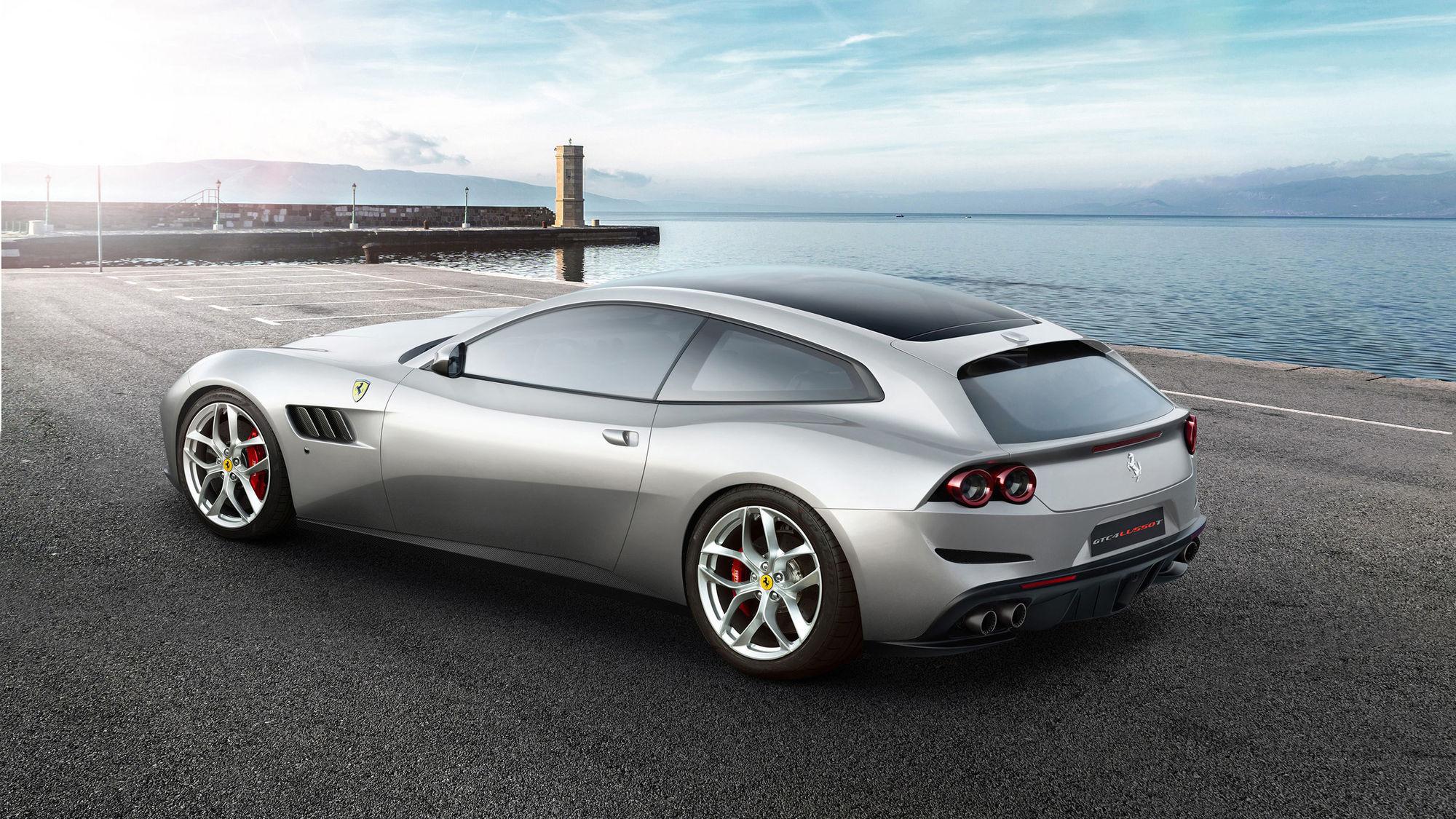 2017 Ferrari GTC4 Lusso T | Ferrari GTC4Lusso T new V8 Details