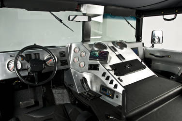 2006 HUMMER H1 | RCH Designs Custom Built Hummer H1 - Interior View