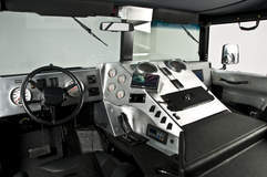 RCH Designs Custom Built Hummer H1 - Interior View