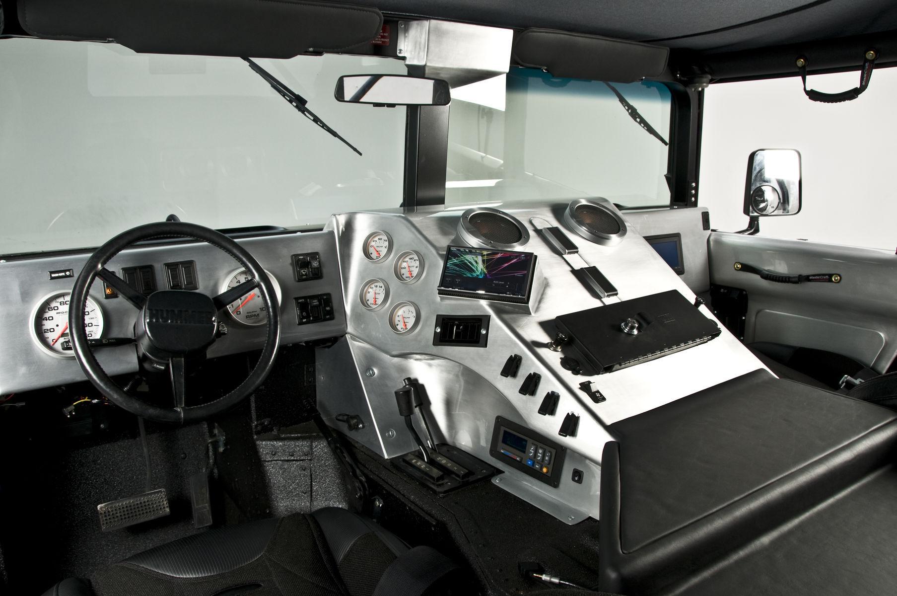 2006 HUMMER H1 | RCH Designs Custom Built Hummer H1   Interior View Images