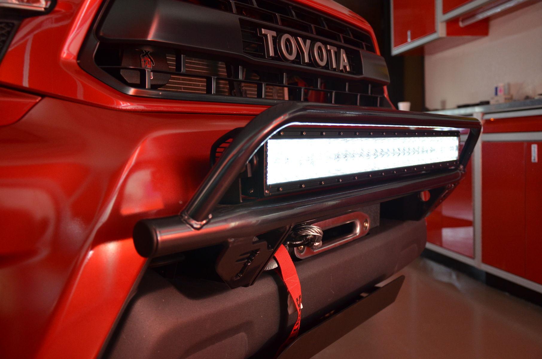2014 Toyota Tacoma   N-FAB TRD PRO Build - Toyota Tacoma Light Bar Shot