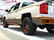 Lingenfelter Supercharged Chevy Silverado on Forgeline ST3P Wheels