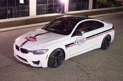 The Wrapped M4 - Front Quarter