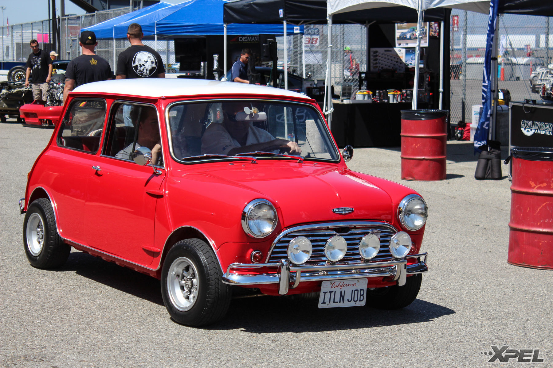 Old School Mini Cooper At The California Festival Of Speed