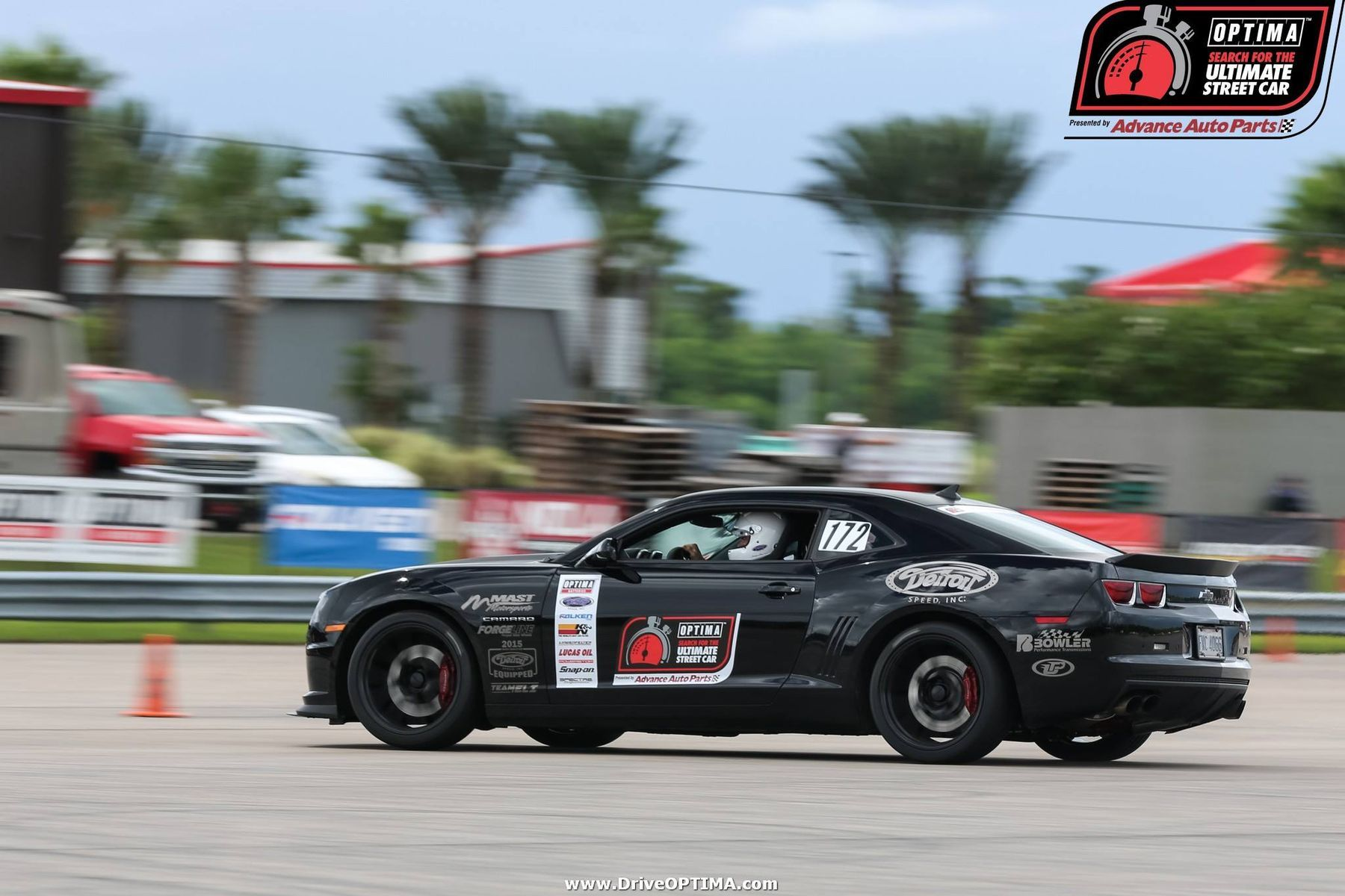 2016 Chevrolet Camaro | Bryan Johnson Wins USCA GT Class at NOLA Motorsports Park with Camaro 1LE on Forgeline One Piece Forged Monoblock GA1R Open Lug Wheels