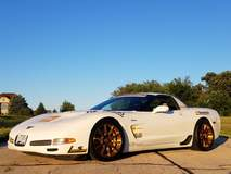 "Chris Jacobs' ""Fluffy"" C5 Corvette Z06 on Forgeline One Piece Forged Monoblock GTD1 5-Lug Wheels"