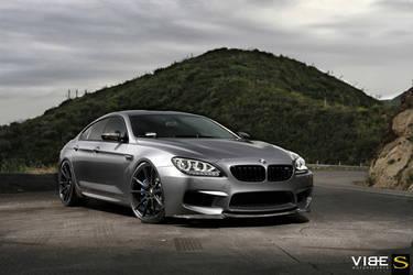"2015 BMW M6 Gran Coupe | '15 BMW M6 on 22"" Savini BM12's - Front Angle Shot"