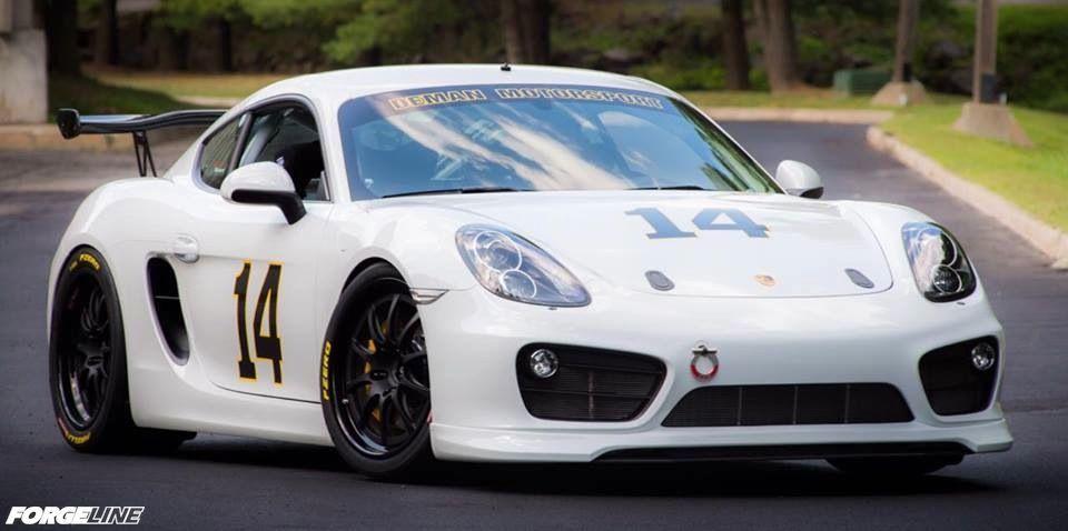 2014 Porsche Cayman S | Porsche Cayman S Race Car on Forgeline GZ3R Wheels