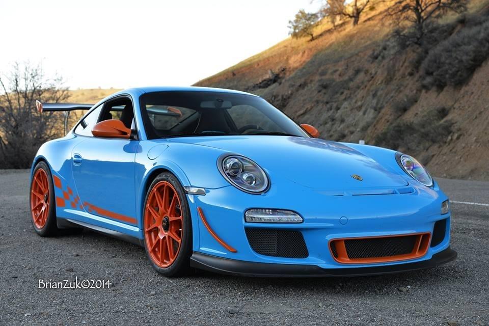 2011 Porsche 911 | Sharkwerks Porsche GT3 RS on Forgeline One Piece Forged Monoblock GA1R Wheels
