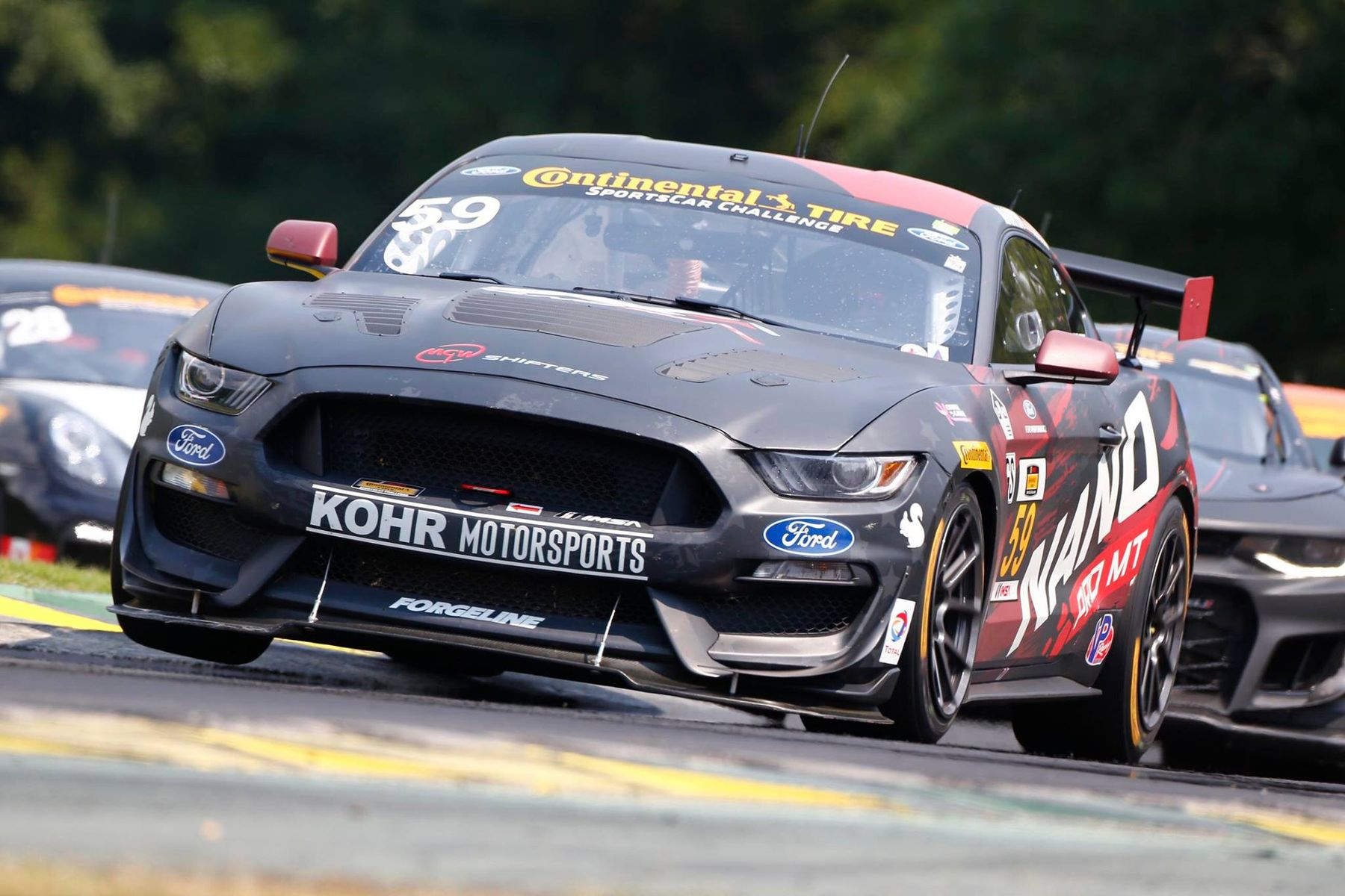 2017 Ford Mustang | Forgeline Teams on the IMSA GS Podium at VIR