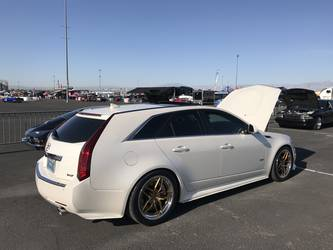 2014 Cadillac CTS-V Wagon | Aaron Barnell's Cadillac CTS-V Wagon on Forgeline AL304 Wheels