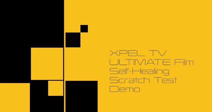 | XPEL ULTIMATE Paint Protection Film Self-Healing Clear Bra Demo