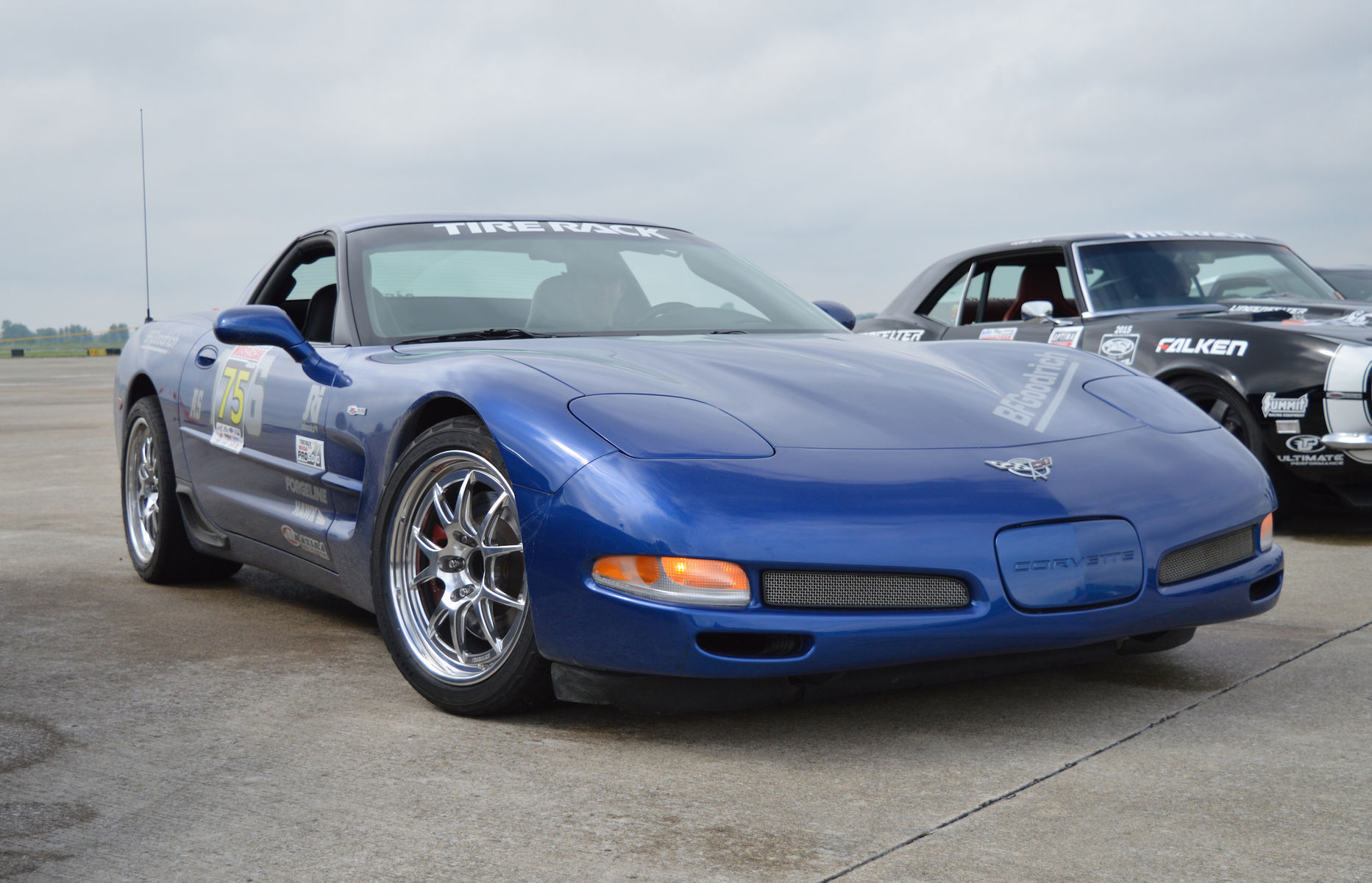 2003 Chevrolet Corvette Z06 | Nathan Popp's C5 Corvette Z06 on Forgeline GA3R Wheels