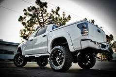 Lifted Tundra