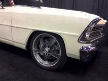 "Rob & Pam Aquilina's ""Novad"" 1966 Chevy II Nova Wagon on Forgeline CH3P Wheels"