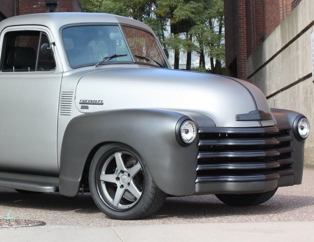 1953 Chevrolet  | Don's 1953 Chevy 3100 Pickup on Forgeline CF3C Concave Wheels