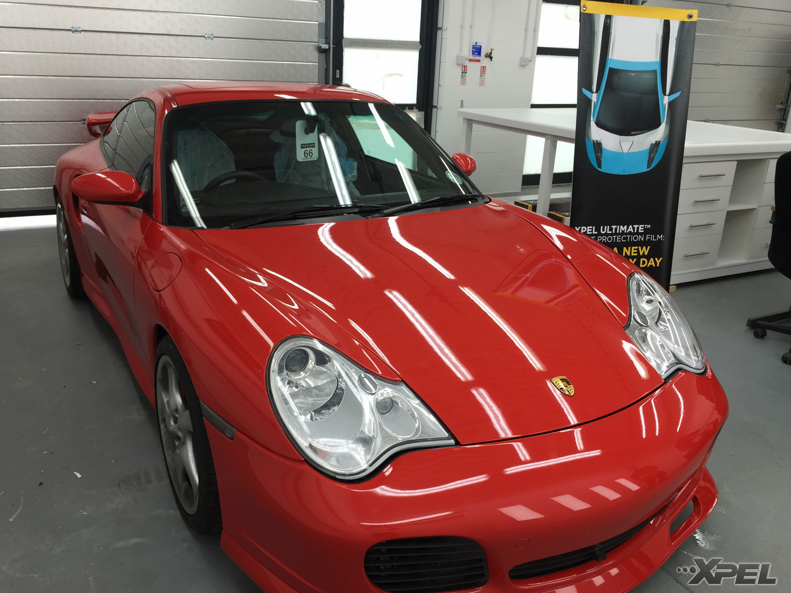 | Porsche 911 protected with XPEL ULTIMATE