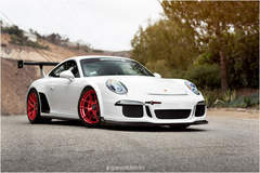 Josh Shokri's Speed District Porsche 991 GT3 on Forgeline One Piece Forged Monoblock VX1R Wheels