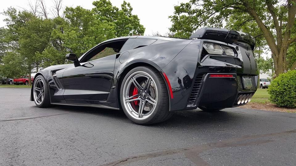 2015 Chevrolet Corvette Z06 | Steve B's C7 Corvette Z06 on Forgeline SC3C-SL Wheels