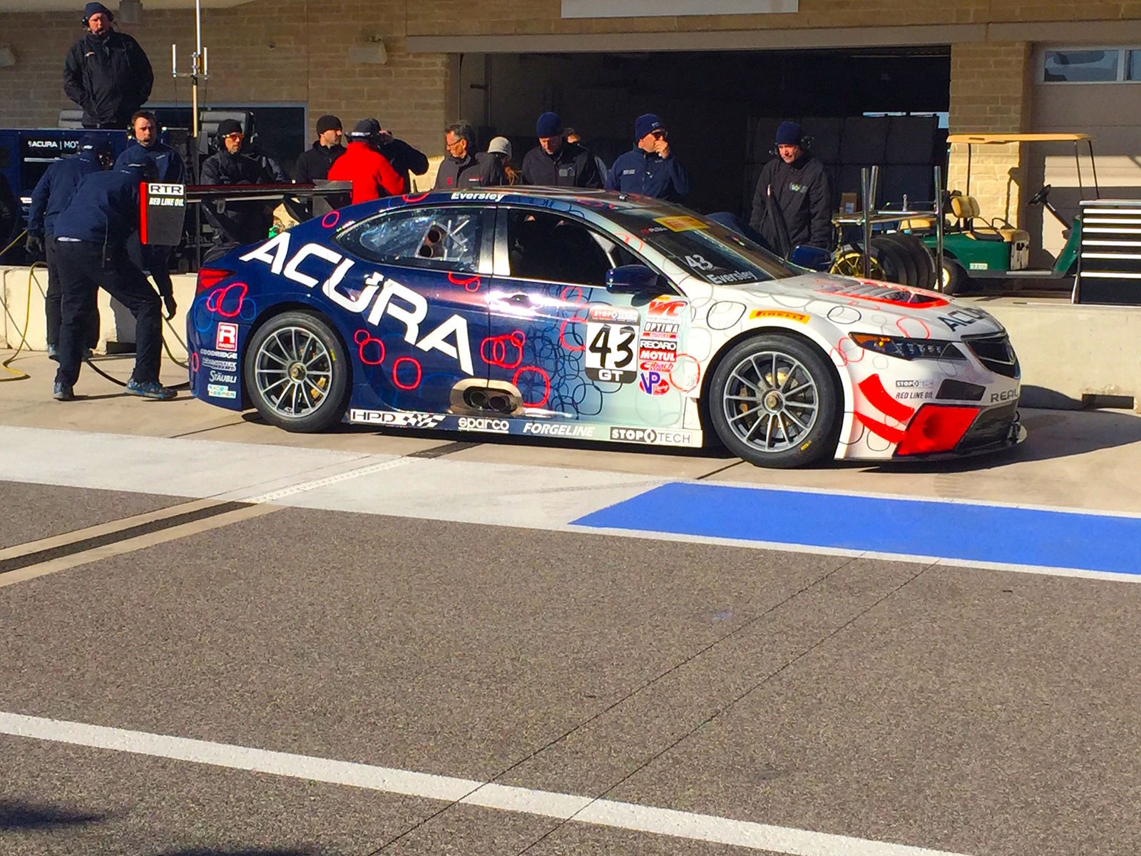 2015 Acura TLX | RealTime Racing at COTA
