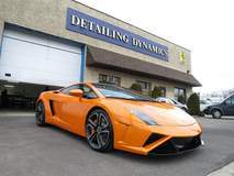 Lamborghini Gallardo with XPEL ULTIMATE self-healing clear bra