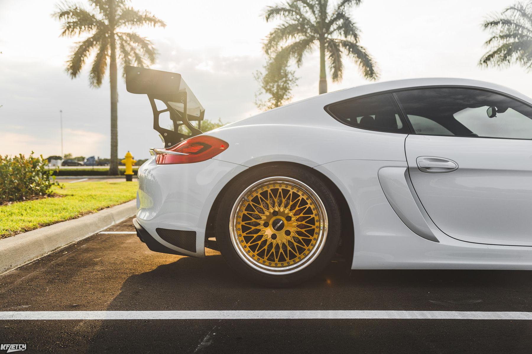 2016 Porsche Cayman S | Rennsport One's 981 Porsche Cayman S on Forgeline Heritage Series LS3 Wheels