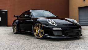Roadster Shop-Prepped Porsche 997 GT3 on Center Locking Forgeline One Piece Forged Monoblock FF1 Wheels