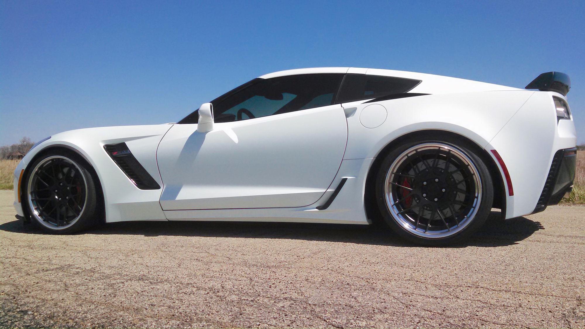 2016 Chevrolet Corvette Z06 | Randy Trott's C7 Corvette Z06 on Forgeline DE3C-SL Concave Stepped Lip Wheels
