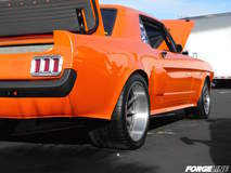 Chad Miller Mustang on Forgeline RB3C Wheels