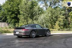 Charcoal Porsche 911 Carrera - Stance