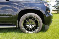 Smitty's Chevy Suburban LTZ on Forgeline One Piece Forged Monoblock VX1-Truck Wheels